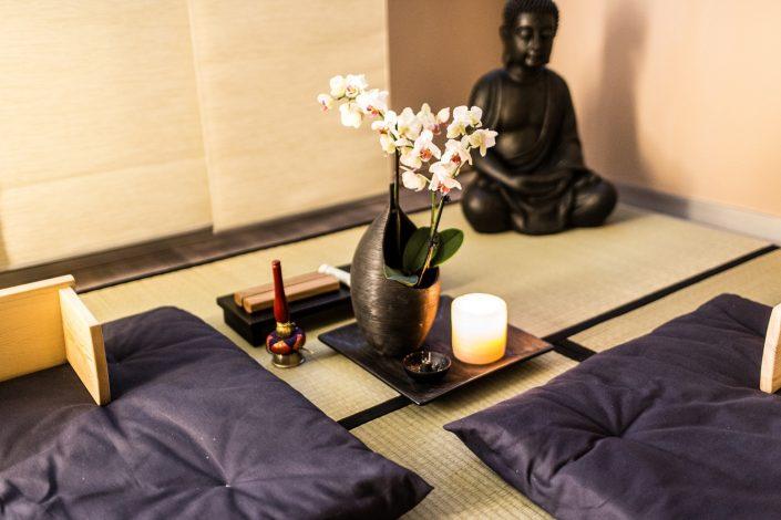 Meditation lernen in der vita Zen Lounge