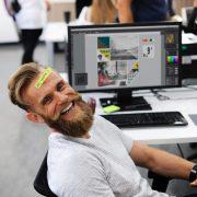 Entspannter arbeiten mit Meditation am Arbeitsplatz.