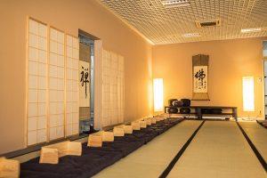 Standorte für die Zen-Meditation sind Salzburg und Allgäu.