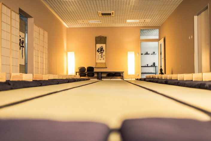 Raum für Zen Meditation Seminar - vita Zen Lounge