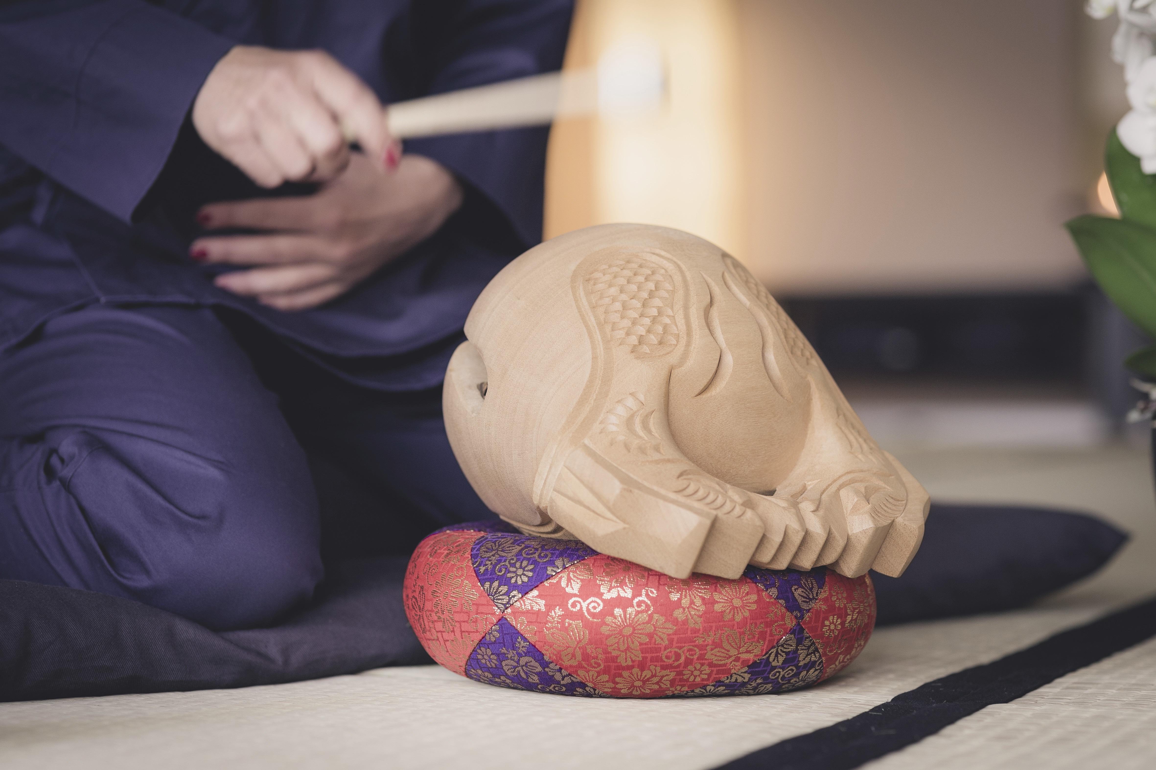 Rezitation ist ein wichtiges Elemt im Zen.