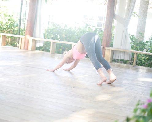 Zen Meditation und Yoga als Ausgleich zum Alltag.