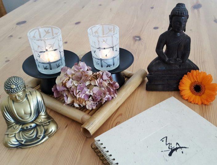 Richtig sitzen beim Meditieren.