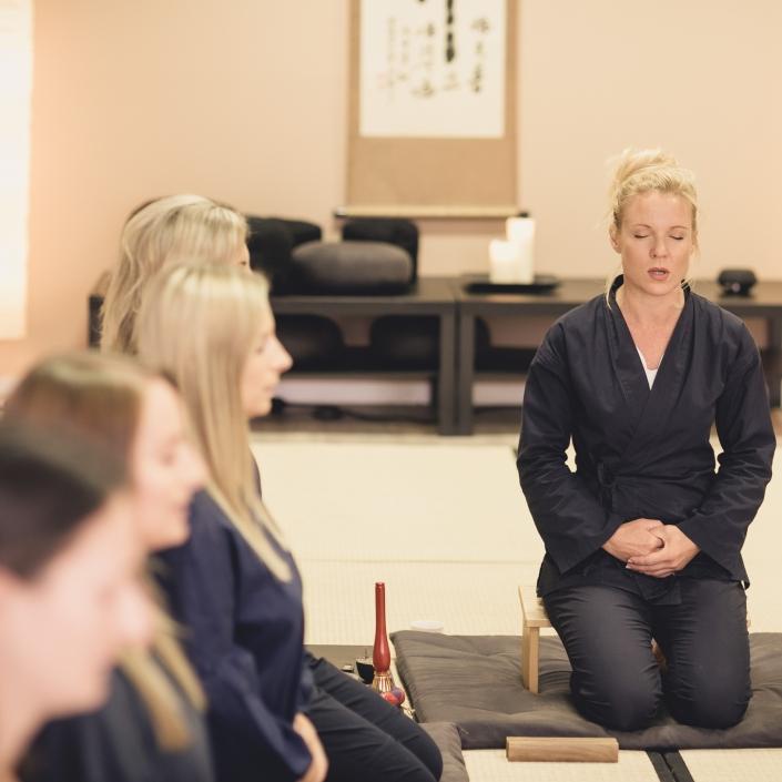 Zen Meditation 1 Tages Seminar in Salzburg - geführte Meditation