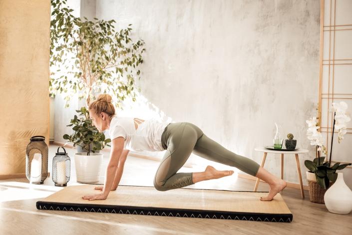 Yoga mit Conny Hörl im Female Leadership Seminar