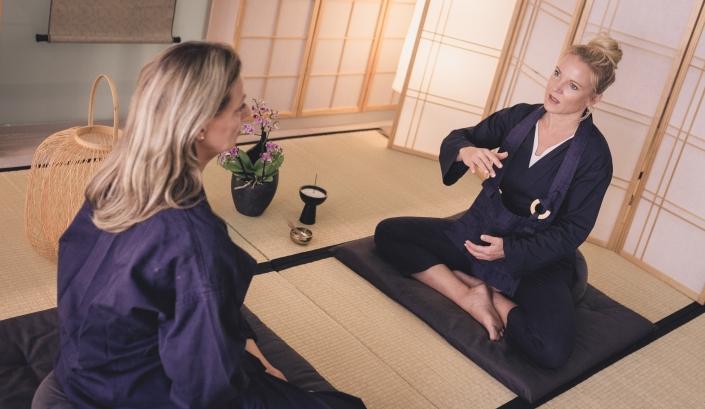 Taiwa Einzeltraining in der Zen Lounge in Salzburg