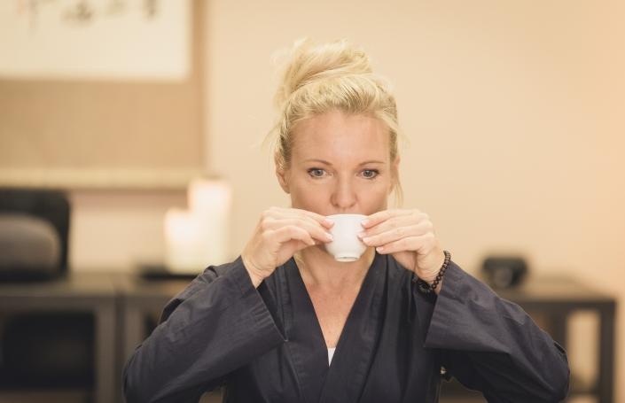 Japanische Teezeremonie Sarei - Zen Lounge in Salzburg